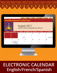 Electronic Multicultural Diversity Calendar